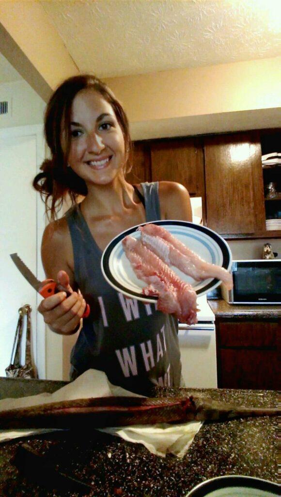 cooking carp
