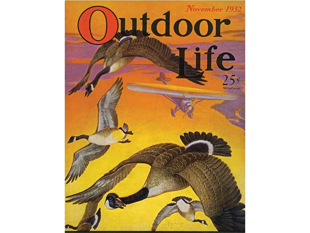 November 1932 issue of Outdoor Life