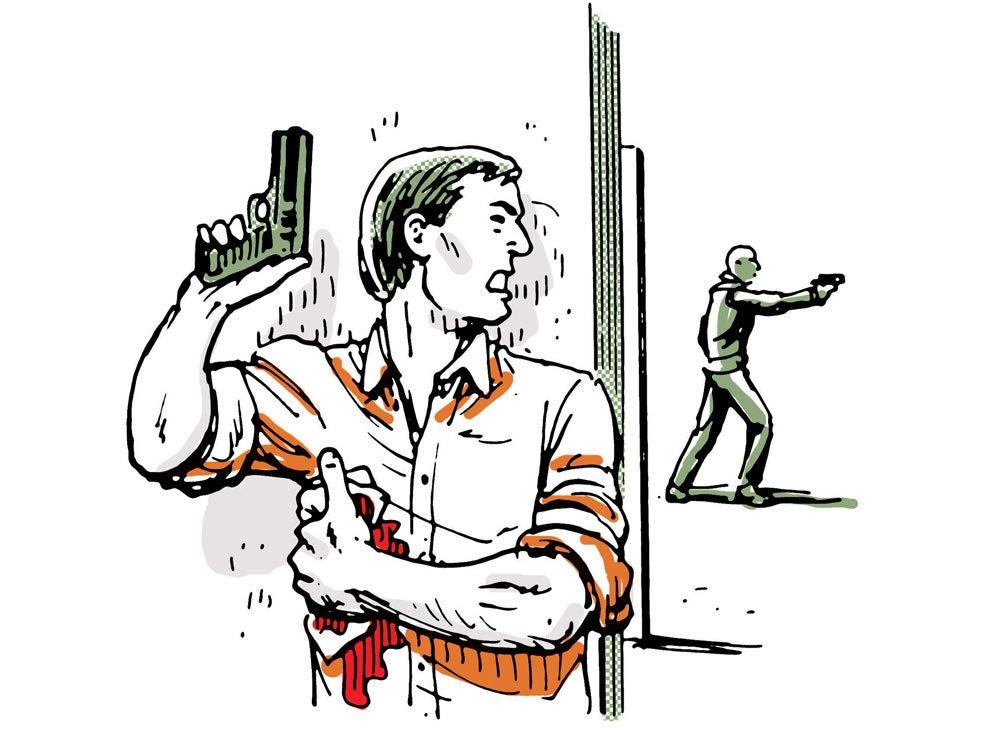 first aid survival gun shot