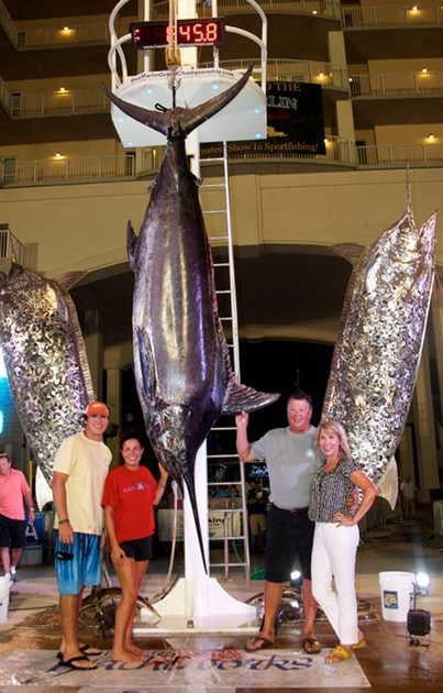 Tournament Anglers Land Alabama State-Record Marlin