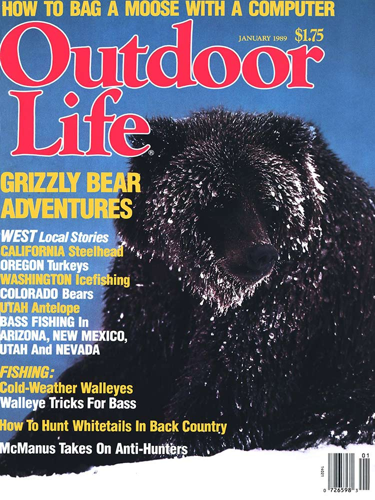 January 1989 Cover of Outdoor Life