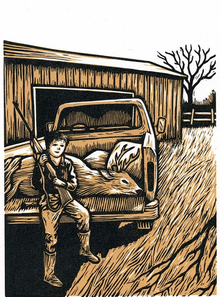 Young Andrew McKean illustration