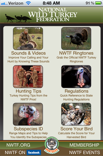 National Wild Turkey Federation Launches New App