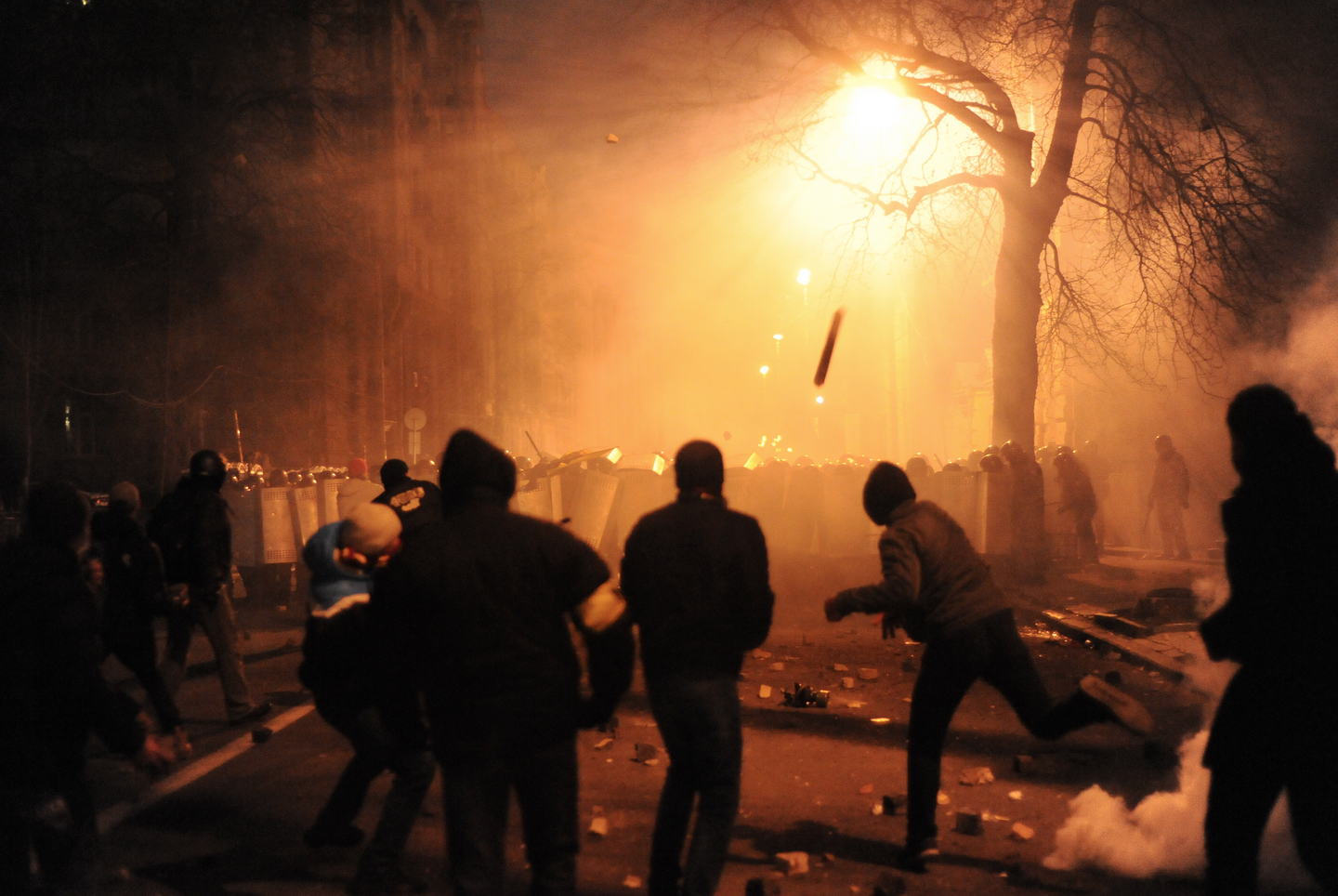 Survival Skills: How to Survive a Rioting Crowd