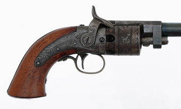Gun of the Week: Wesson & Leavitt Belt Revolver