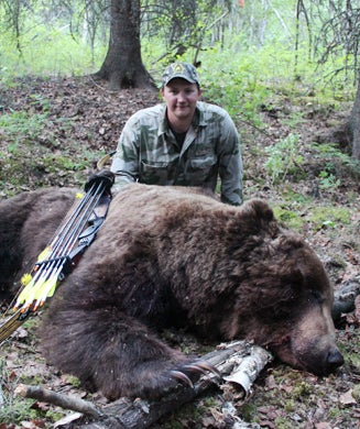 Potential Record Grizzly Taken with a Recurve Bow