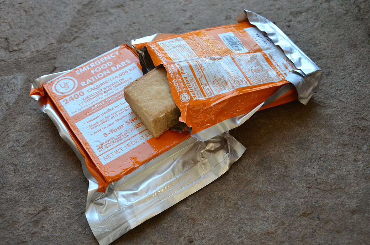 Survival Gear Review:  UST Emergency Food Ration Bars