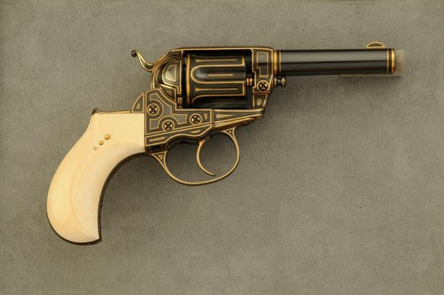 """Gun of the Week: Colt Model 1877 """"Thunderer"""" Double Action Revolver"""