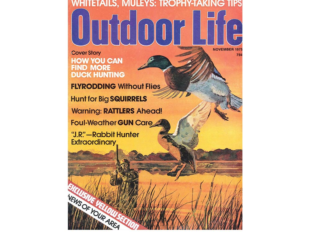 November 1975 cover of Outdoor Life