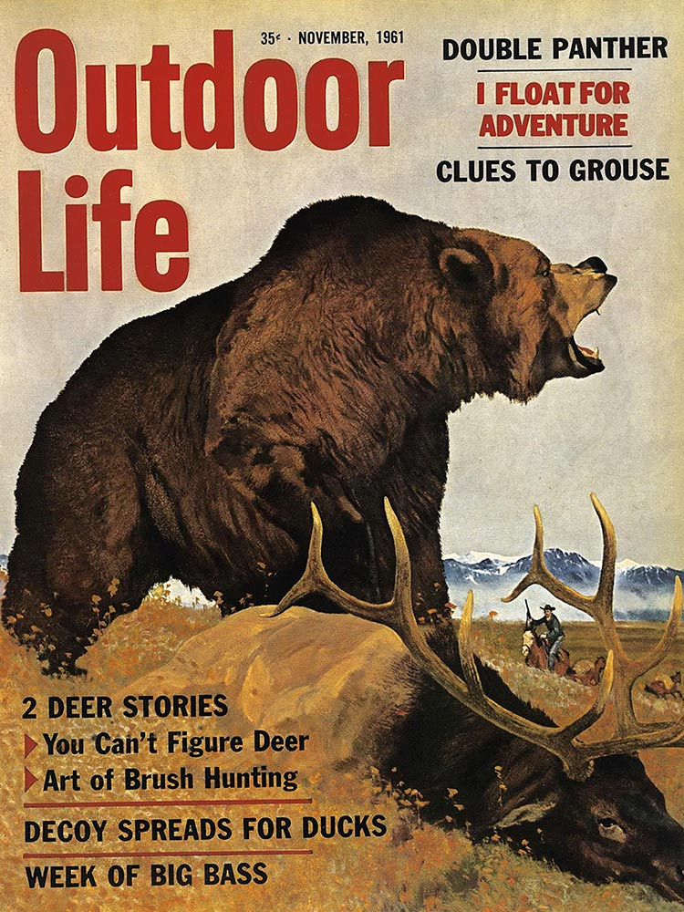 November 1961 Cover of Outdoor Life
