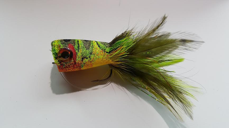 Popping bass bug