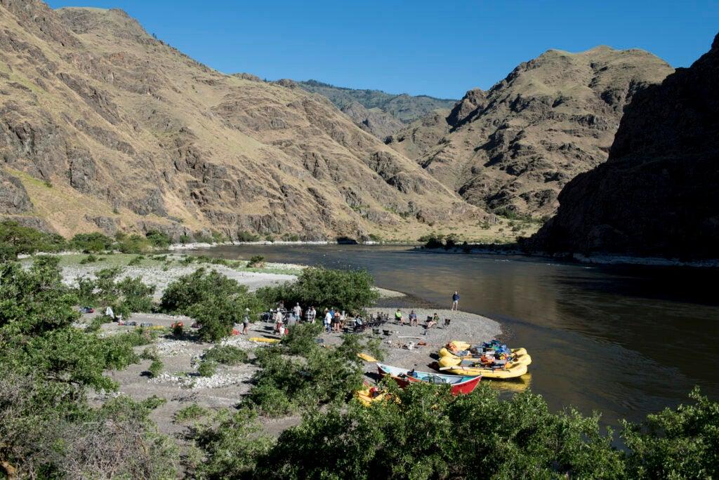 snake river float