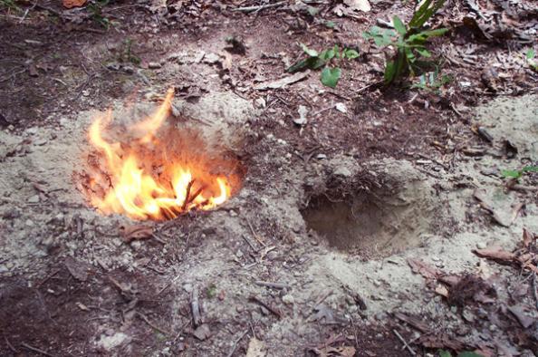 How to Build a Dakota Fire Hole