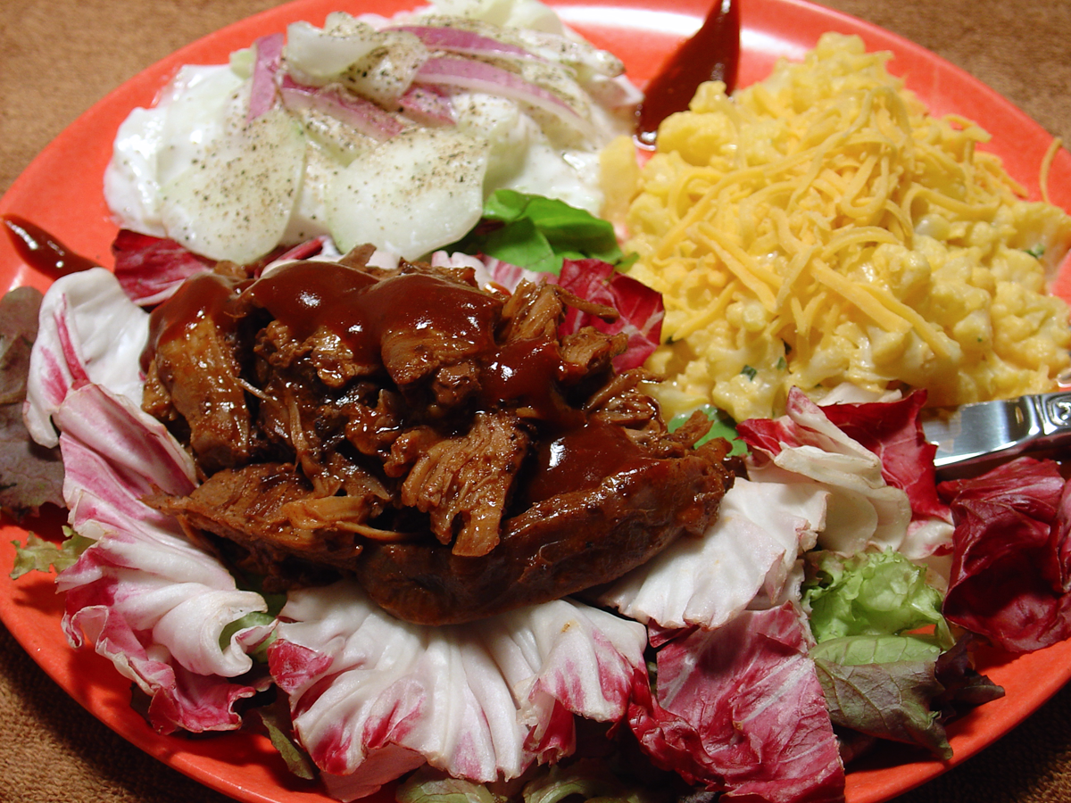 A Super Simple Recipe for Pulled BBQ Bear