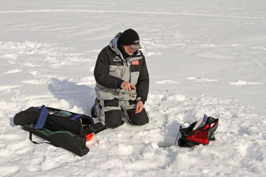 Ice Fishing Tips: Jigging Bump and Run Technique