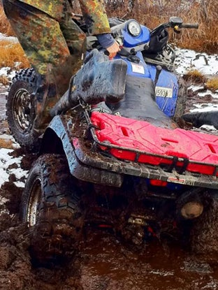 What To Do When Your ATV Gets Stuck
