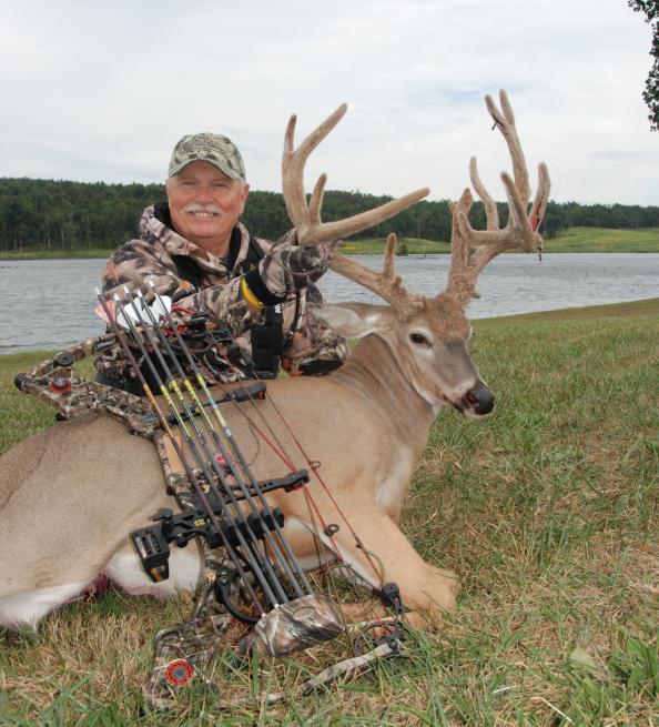 197-Inch Velvet Buck Taken in Kentucky