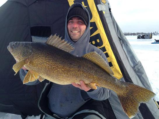 How to Catch a World Record Walleye Through the Ice
