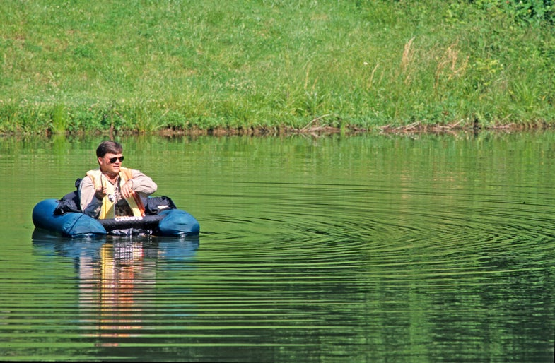 Fishing Tips: Get Closer with Float Tubes