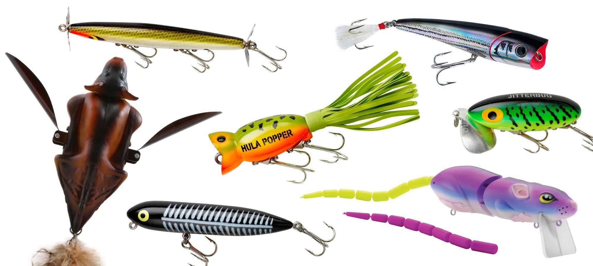 Best topwater bass baits
