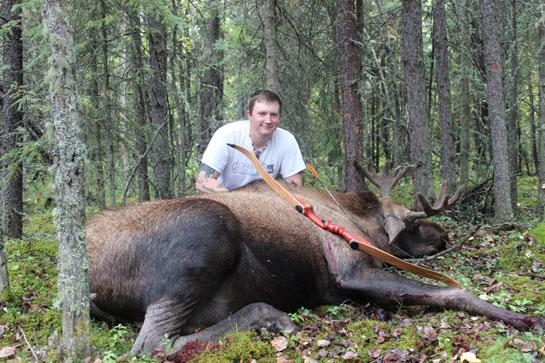 A Moose's Fatal Attraction…to a 3D Target