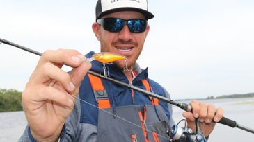 spinning gear for winter bass fishing
