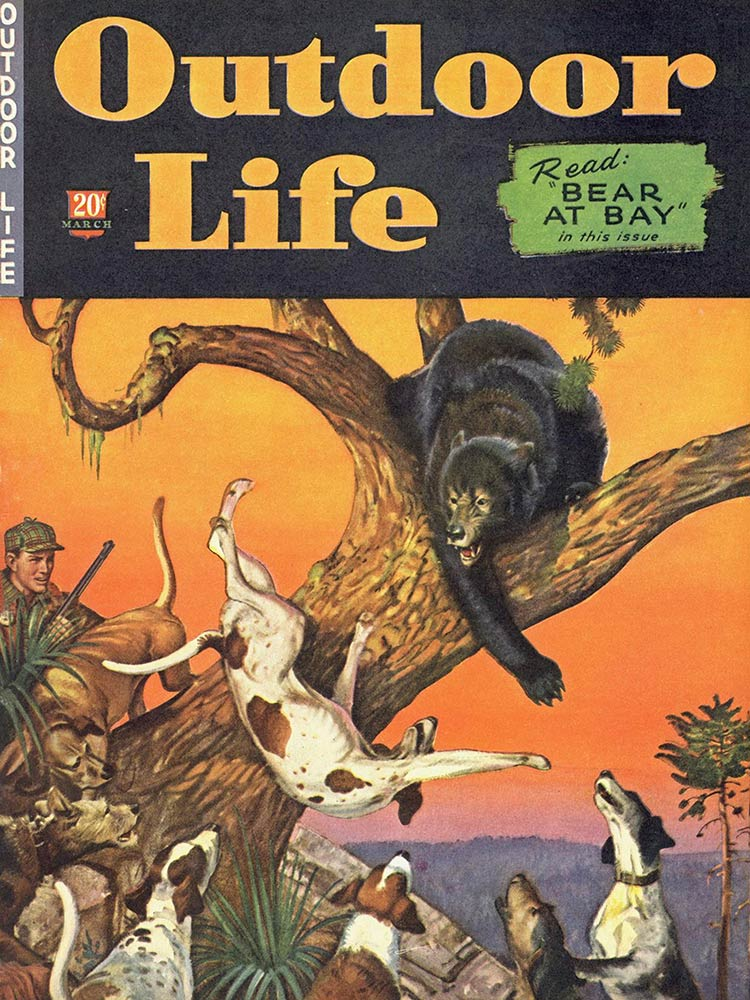 march 1943 Cover of Outdoor Life
