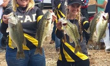 Girls' Bass Fishing Team Earns Spot in College Fishing Championship