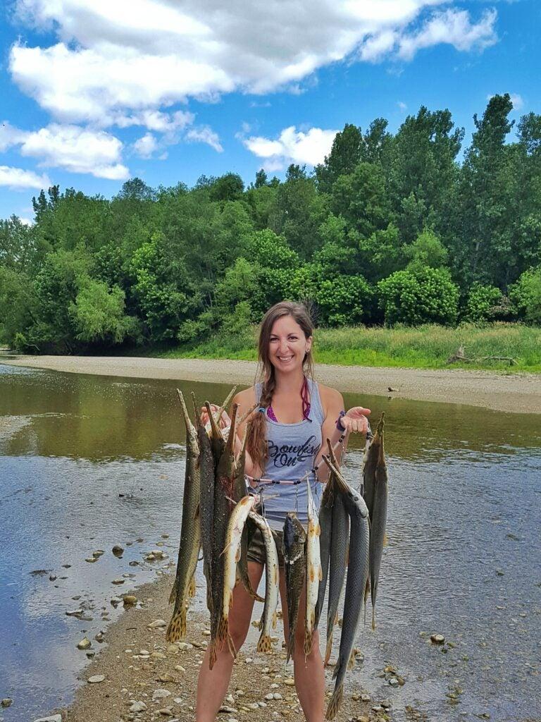 bowfishing Beka Garris