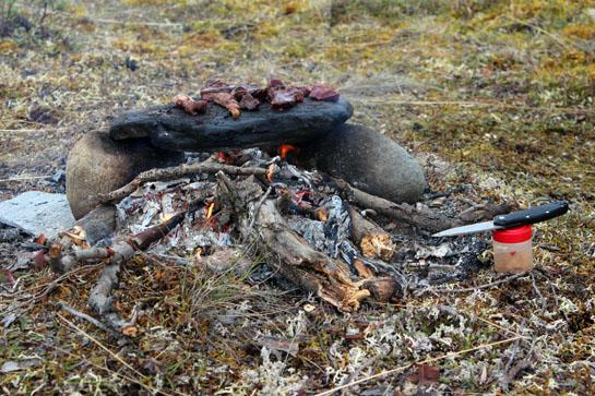 Cooking Meat in the Backcountry: The Original Stoneware