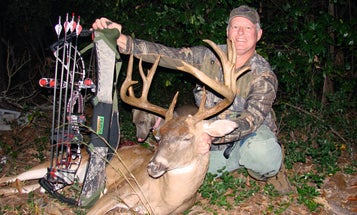 "Whitetail Deer: South Carolina Hunter Arrows A Halloween ""Ghost"""