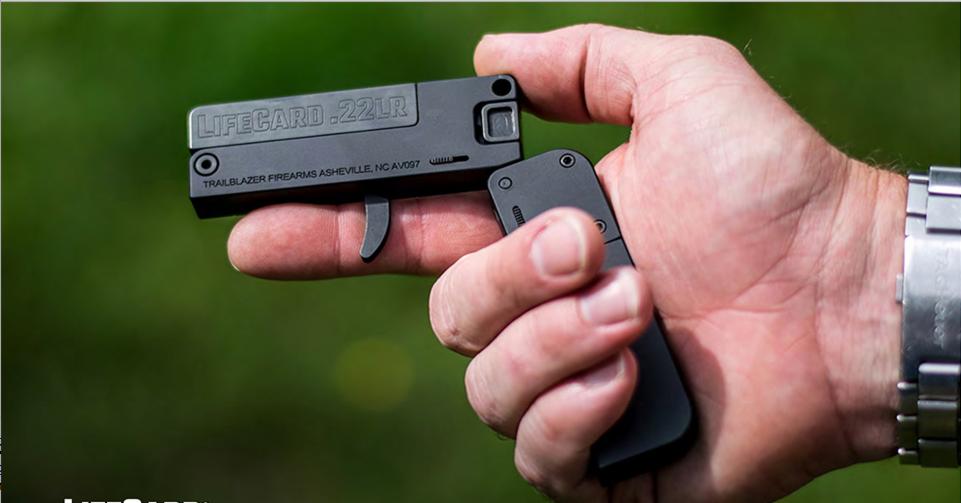 wallet credit card handgun