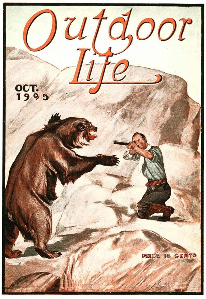 Cover of the October 1905 issue of Outdoor Life
