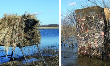 Two Hardy Duck Blinds for You and Your Dog