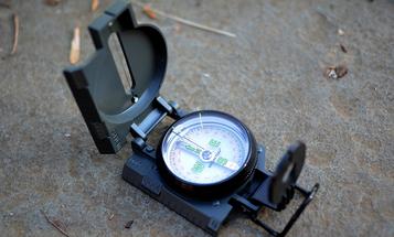 Survival Gear Review: Brunton 9077 Lensatic Compass