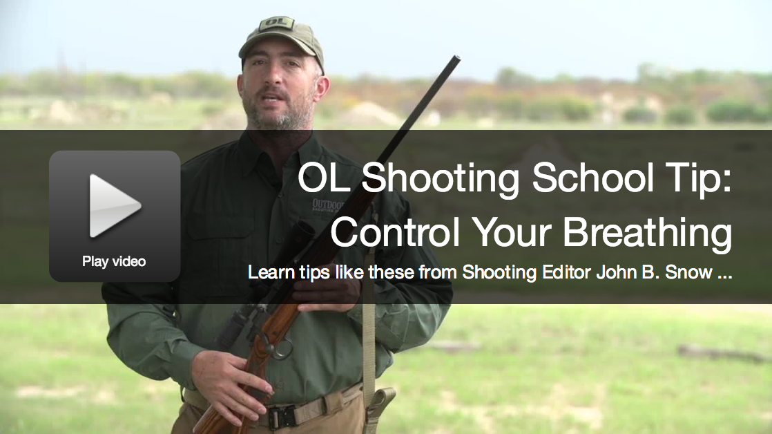 OL Shooting School Tip: How to Control Your Breath
