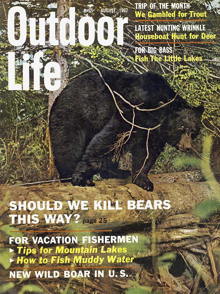 August 1962 Cover of Outdoor Life