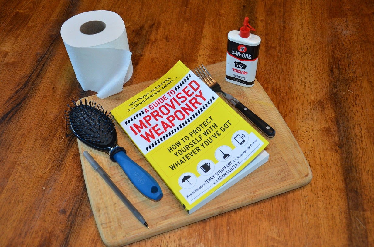 Survival Book Review:  A Guide To Improvised Weaponry