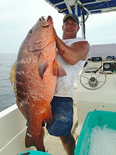 Huge Cubera Snapper Could Shatter Alabama State Record