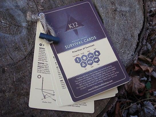 Survival Gear Review: K12 Pocket Survival Cards