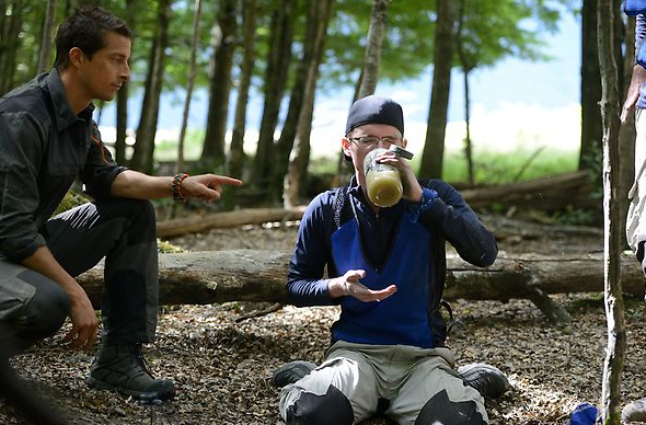 Bear Grylls' New Reality Show Premiers, Contestants Drink Urine