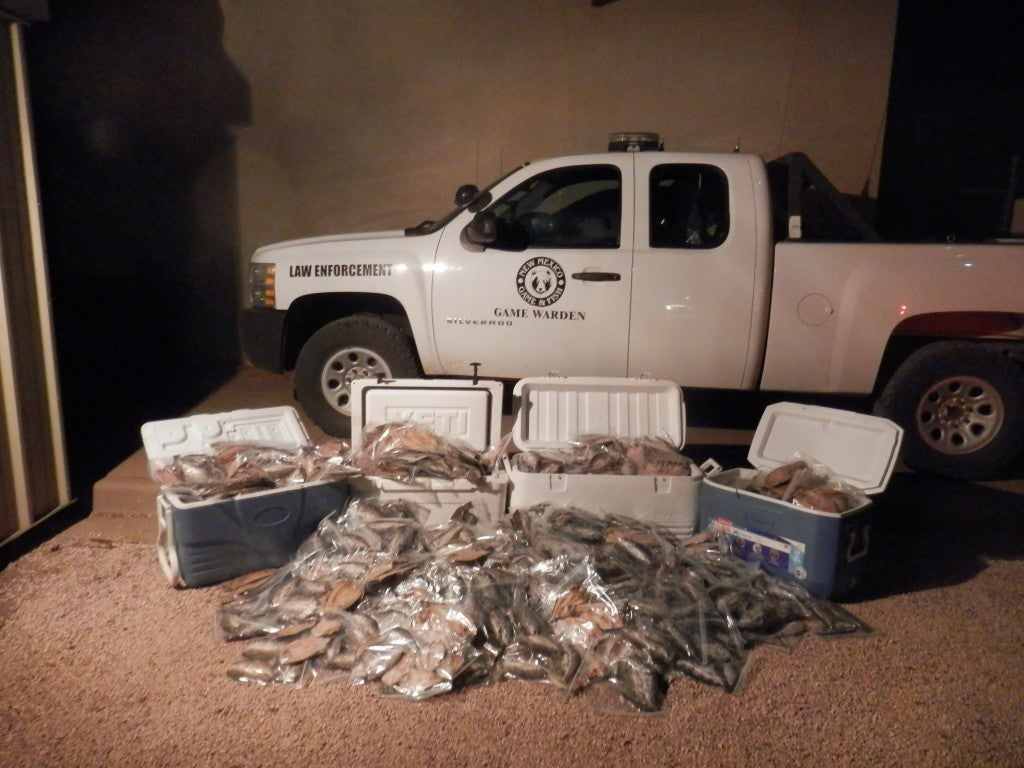 New Mexico Poacher Busted for Having 1,600 Rainbow Trout Over the Limit