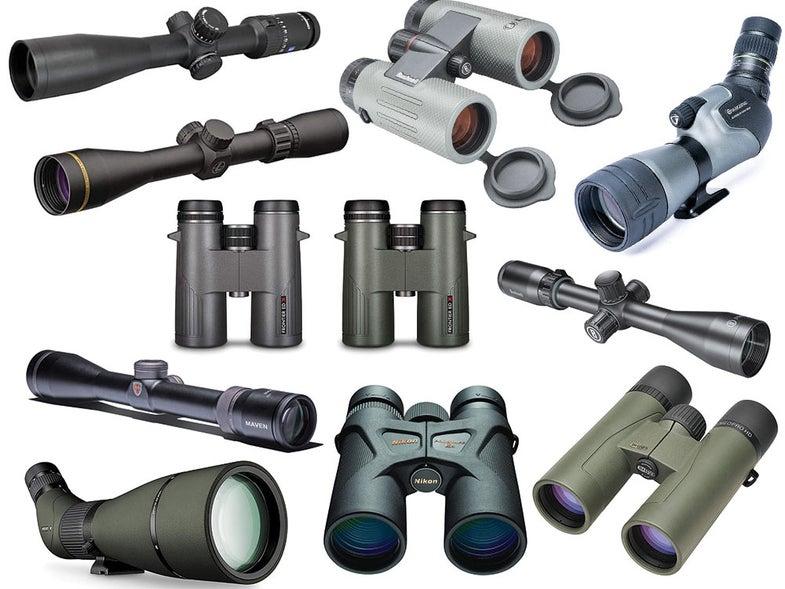 collage of optics