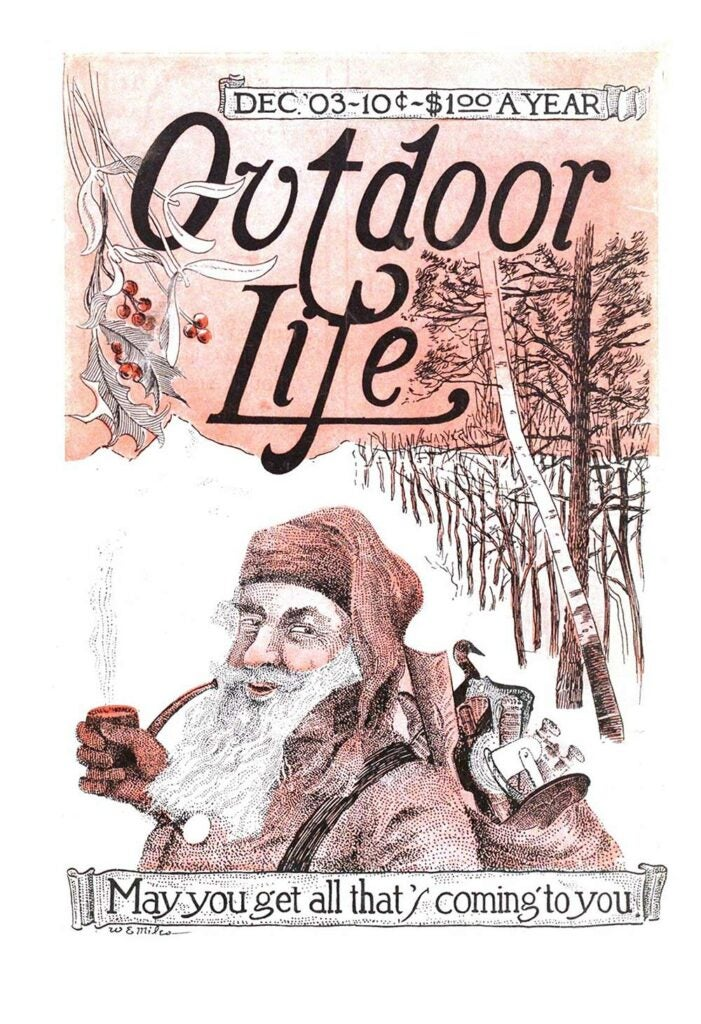 December 1903 Cover of Outdoor Life