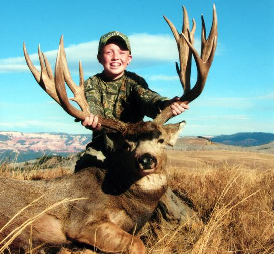 Young Hunters' Boone and Crockett Book Entries Increase by 126 Percent