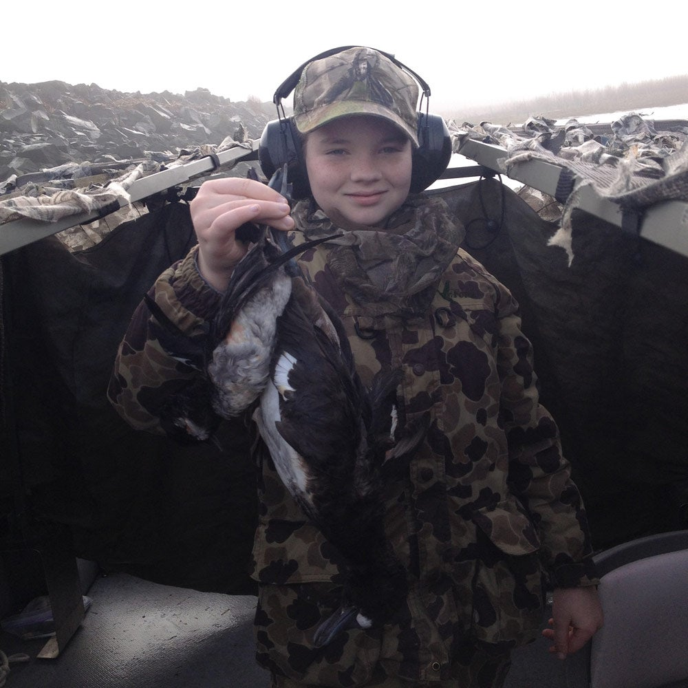 Duck hunting at Lewis and Clark National Wildlife Refuge
