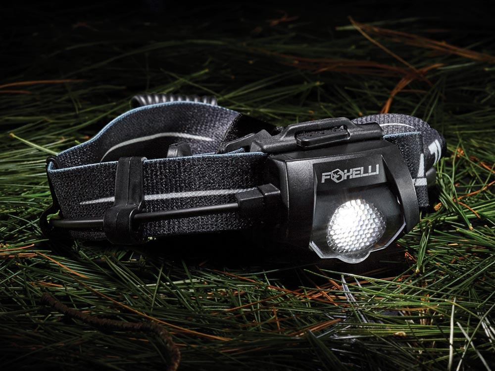 Foxelli MX500L Headlamp