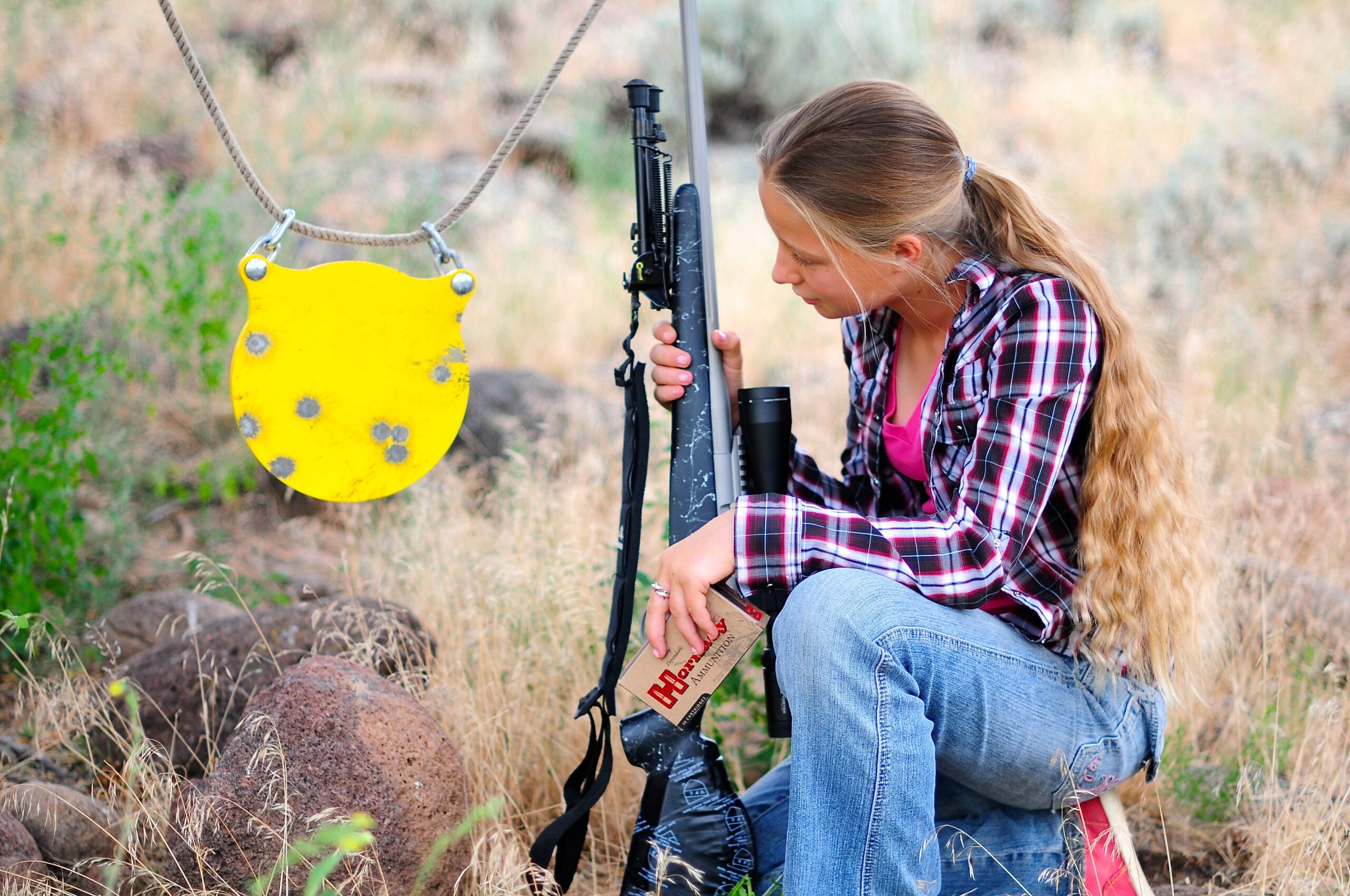 Ringing Steel: The Right Metal and Practice for Swinging Targets
