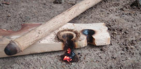 Fire Starting: How to Build a Friction Fire with a Bow and Drill
