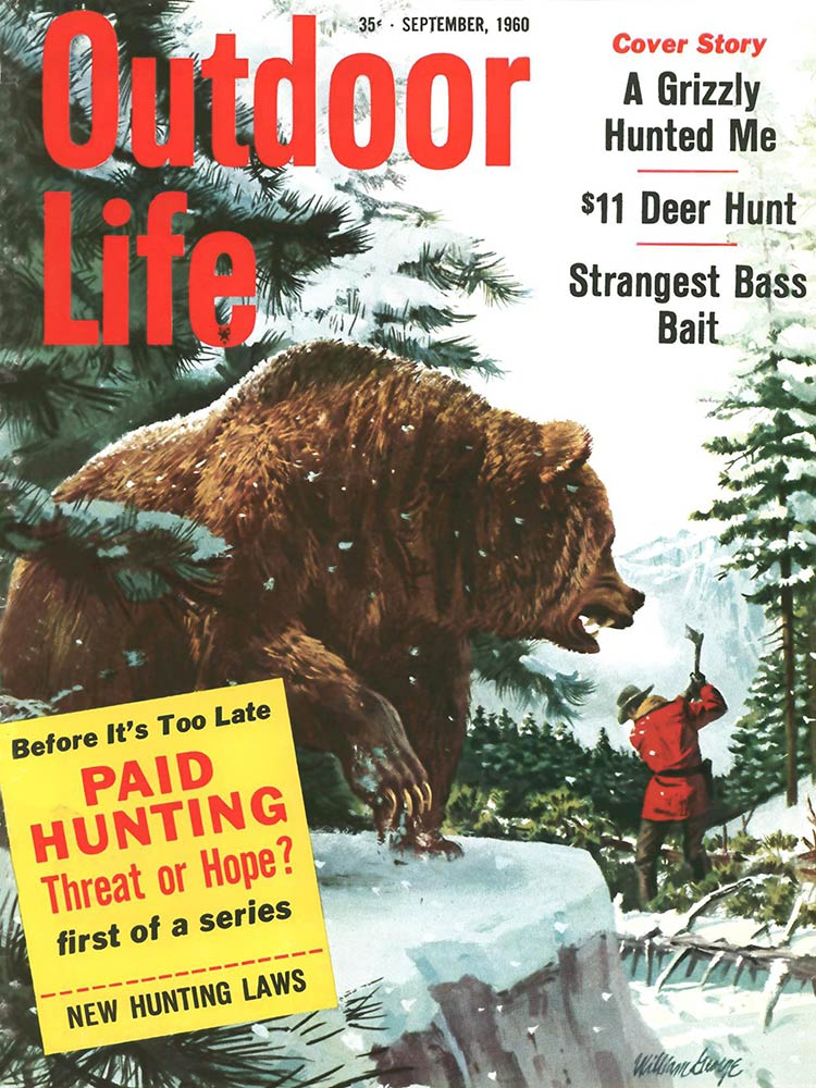 September 1960 Cover of Outdoor Life